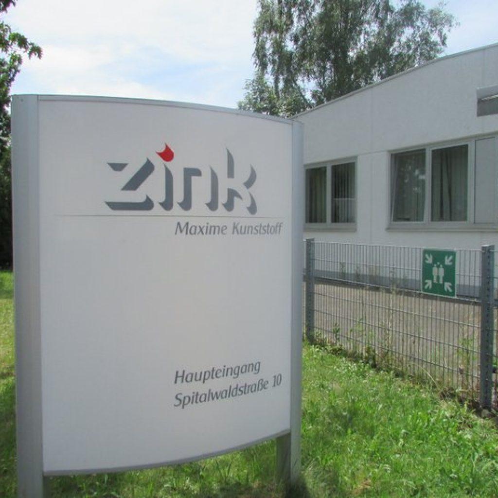 Spatenstich für Neubau und Übernahme der Firma Zink